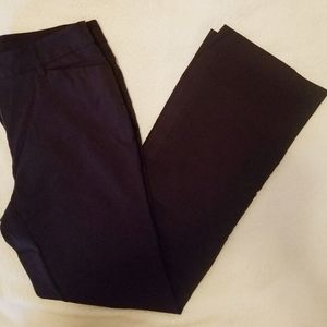 RAFAELLA Womens Modern Fit Navy Pants Size 8